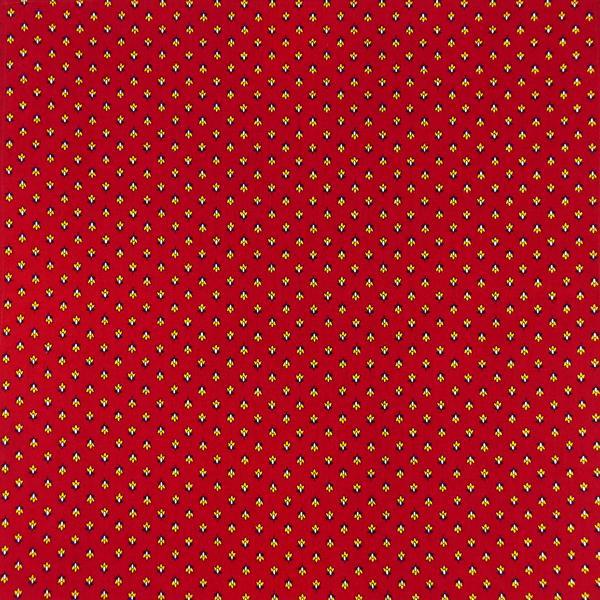 Serviette De Table Tissu Proven Al Rouge Motif Lavande