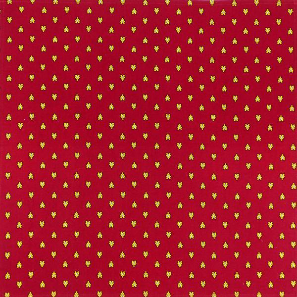 serviette de table tissu proven al rouge motif abeilles. Black Bedroom Furniture Sets. Home Design Ideas