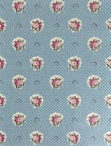 tissu de provence au m tre ma anenco bleu floral les olivades. Black Bedroom Furniture Sets. Home Design Ideas