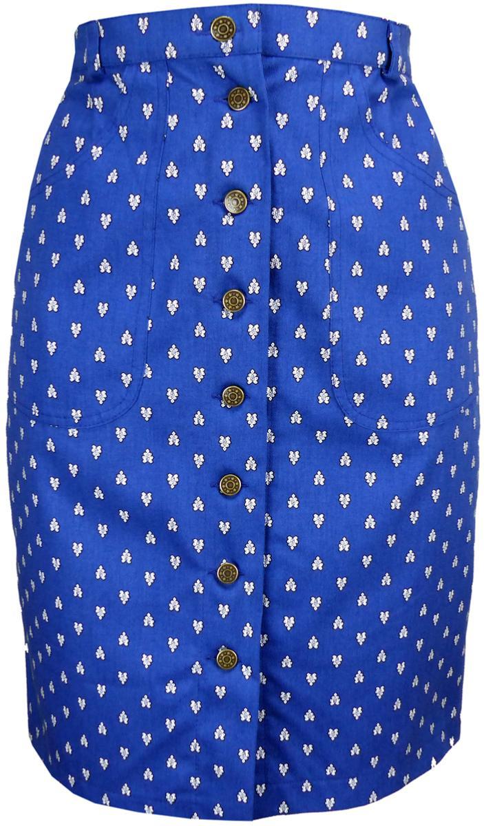 9417d9bc87745a Jupe Jean Mi-Longue Bleu clair - Marion