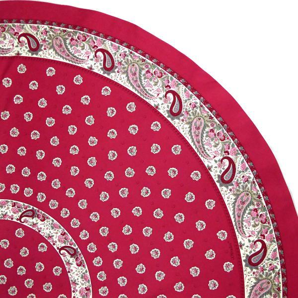 nappe ronde proven ale diam tre 175 rose lilas. Black Bedroom Furniture Sets. Home Design Ideas