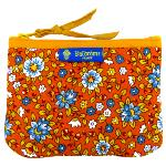 Pochette provençale Azur orange Printemps